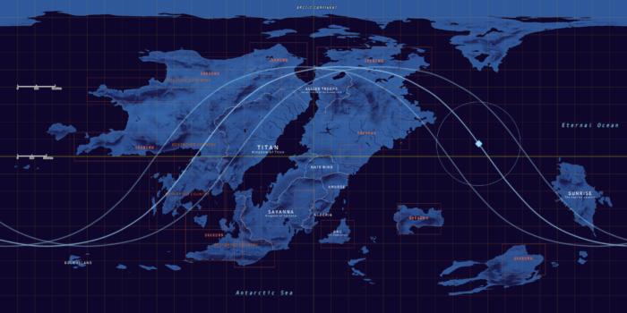 RPGのワールドマップ(by seea)
